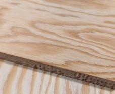 Фанера из лиственницы ФСФ 2440х1220х6.5мм сорт 1-3 шлифованная